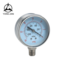 Stainless steel pressure gauge/air pressure gauge