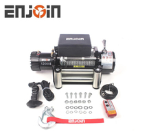 ENJOIN Auto winch 12000 used for 4x4 off road
