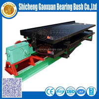 Gold machine shaking table separation coal, gold, copper ore
