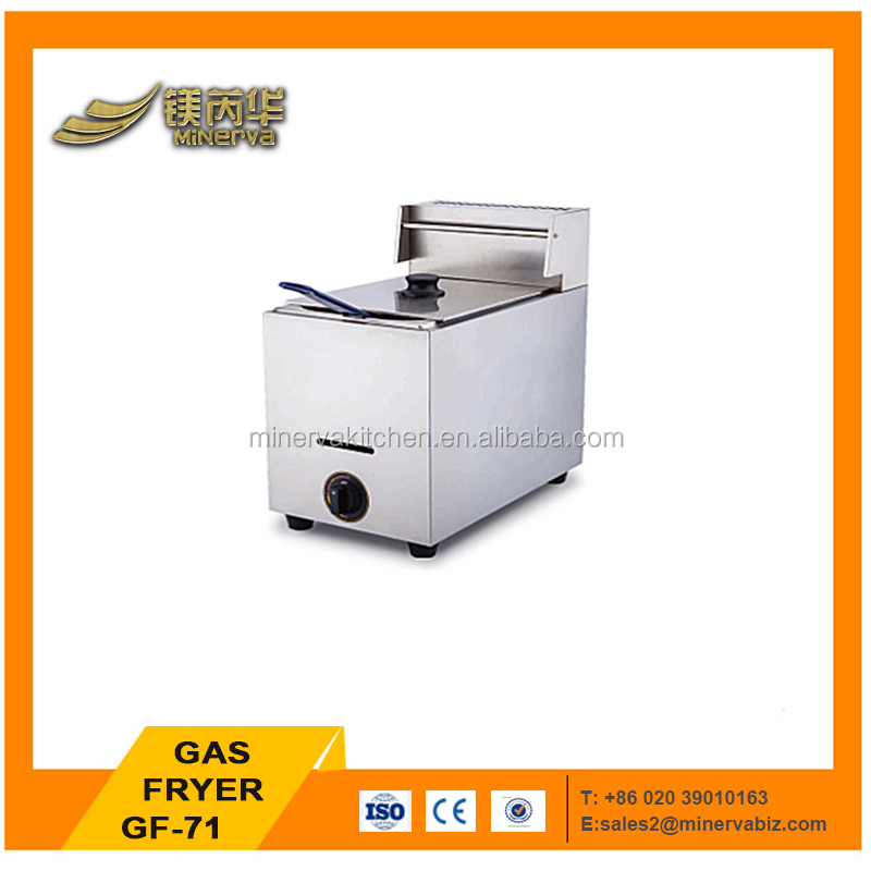 Quality Choice Electric 10L 3KW deep fryer /broaster deep fryer /fried chicken machine