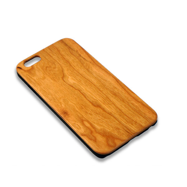Natural wood design smartphone case PC+wood weight: 31G