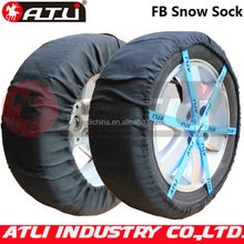 Hot selling quick mounting polyester fibre FB auto snow sock
