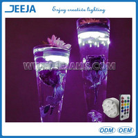 Event&Party type floating led Remote controlled battery operated led light