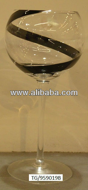 Hand made wine glass