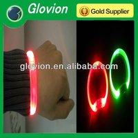 Novelty led party bracelets glow in the dark bracelet flashing bracelets