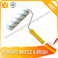 Long handle brush roller plastic