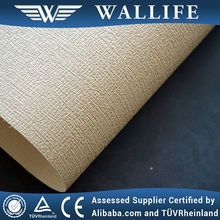 WLF0302 commercial waterproof fabric backed vinyl wallpaper covering
