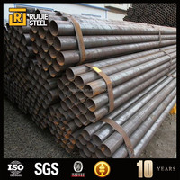 ERW Round Black erw steel line pipe for oil and gas