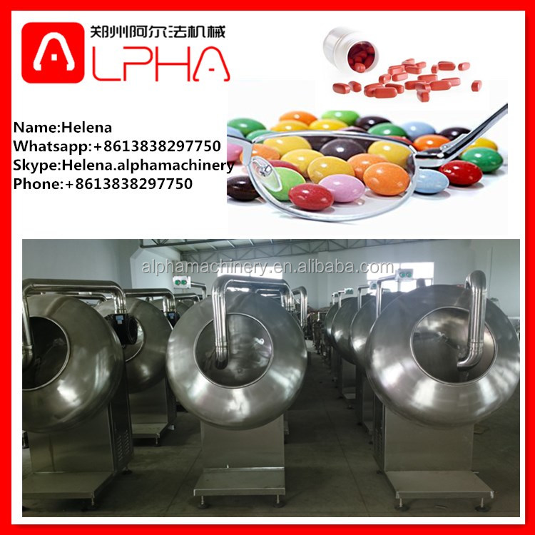 nuts/candy/tablet/peanut glazing machine/sugar coating machine