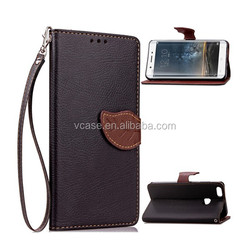 hot selling products phone accessories factory price leather mobile phone case for htc one dual sim