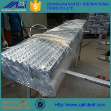 Zinc 80g Hot Dipped Galvanized Perforated Steel Angle Iron