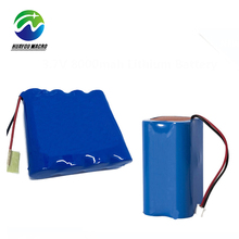 18650 1S4P 3.7V 8000Mah 8Ah Li Ion Li-Ion Lithium Battery Pack