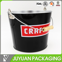 5L bottle beer empty tin tinplate metal ice bucket