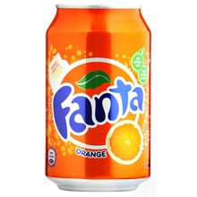 FANTA 0,33L Orange Soft Drink