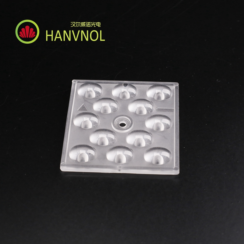 HANVNOL new product in 2017 plastic PC material Led optical street light lens