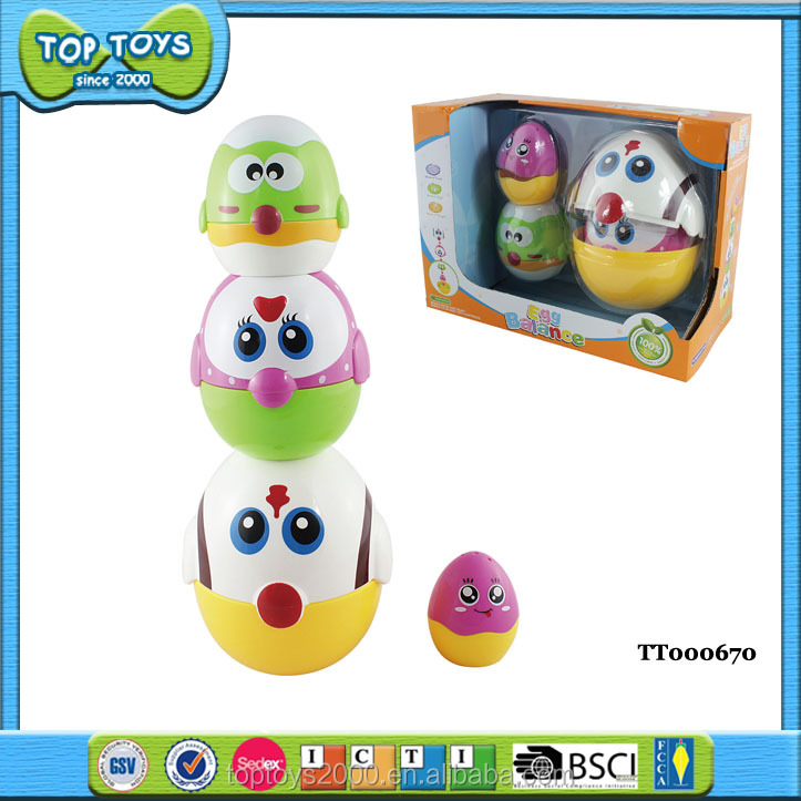 ABS Funny Egg Balance Educational Game Toy For Kids