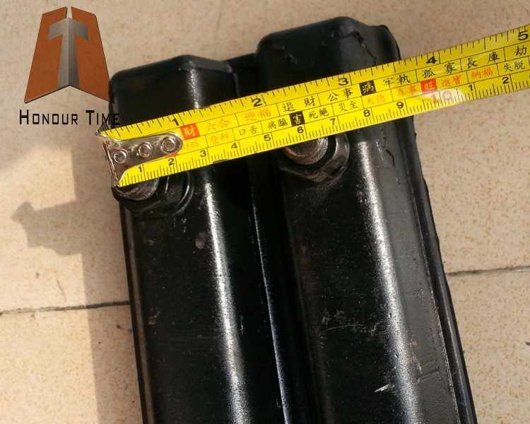 450mm Rubber track pads for excavator track shoe