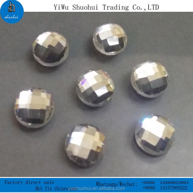 hot sale 10MM round dmc crystal iron on rhinestone hot fix