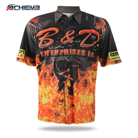 OEM Custom Dry-fit 100% Polyester Sublimated Motorcycle Racing Jerseys Stylish cool breathable comfortable motorcycle clothing