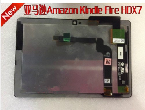 Alibaba China wholesale Assembly LCD and touch screen for Amazon Kindle Fire HDX7