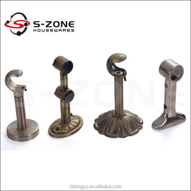 Curtain rod center support 2