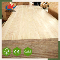 JHK- Wholesale Chest Sugar Yellow Pine Wood Butt Finger Joint Board