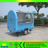 Street Cleaning Donut Vending Hot Dog Coffee Drink Food Cart