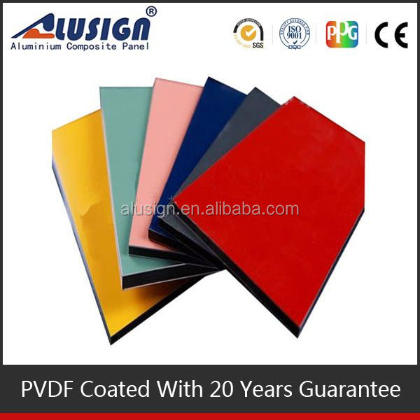 Alusign aluminum composite panel ceiling for outdoor digital signage display
