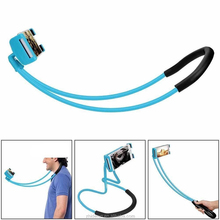 Cell Phone Selfie Neck Holder Stand Lazy Hanging Neck Phone Stands Tablet Stand Holder For iPad For Iphone