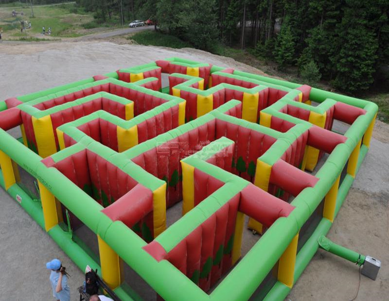 carnival inflatable maze game inflatable laser tag maze for sale