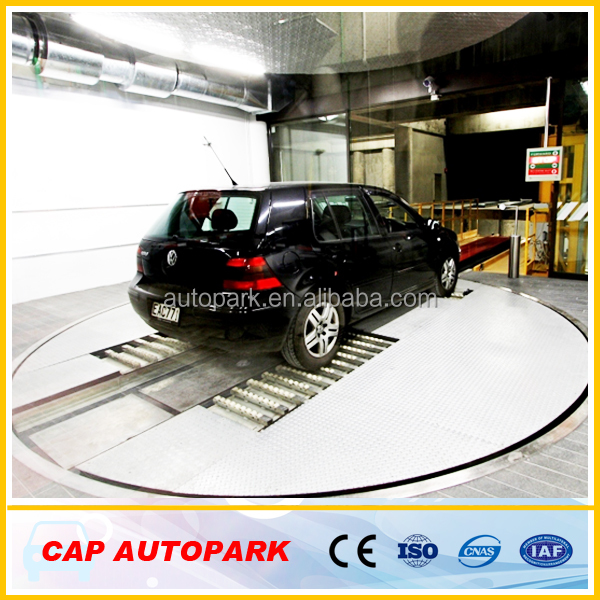 Car park system_Robotic automated parking solution