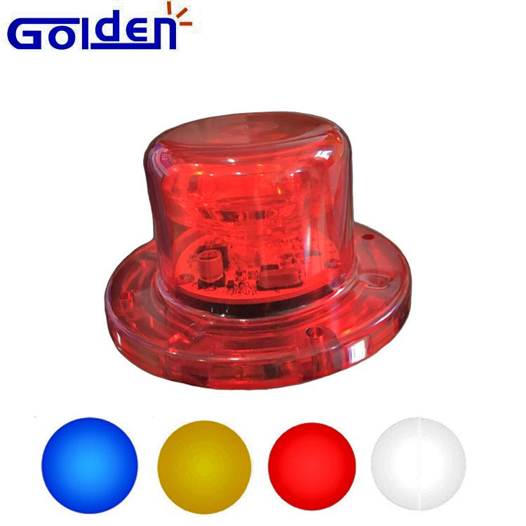 Emergency vehicle 180 degree viewing high power 12 volt LED hide away strobe warning lights
