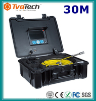 Brand New 30M Pipe/Wall Sewer Snake Inspection Camera System With DVR