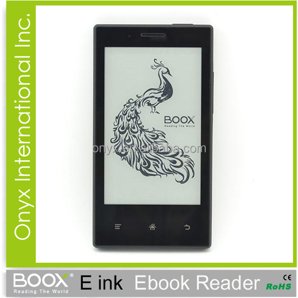 e-ink smartr phone made in china Onyx Boox E43 Android 2.3 wifi bluetooth