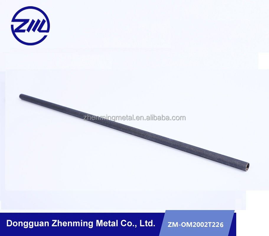 Low price Iron round rod/bar customized hollow mtal rod cnc products