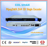 MPEG-2 H.264 SD audio&video encoder with multiplexer COL5111AX