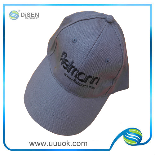 Plain black wholesale golf hats custom logo