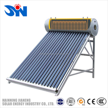 Pre-heated Compact Pressurized Solar Hot Water heater with copper coil in water tank,vacuum tube solar water heater