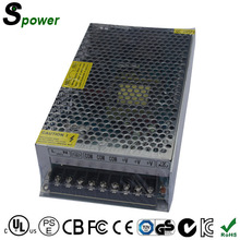 CE ROHS FCC Approved Single Output Switching Power Supply 200W 5V 40A Metallic Power Supply for LED Box