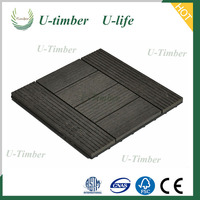 Factory Supply DIY wpc living room floor tile, more durable low price WPC DIY interlocking floor tiles