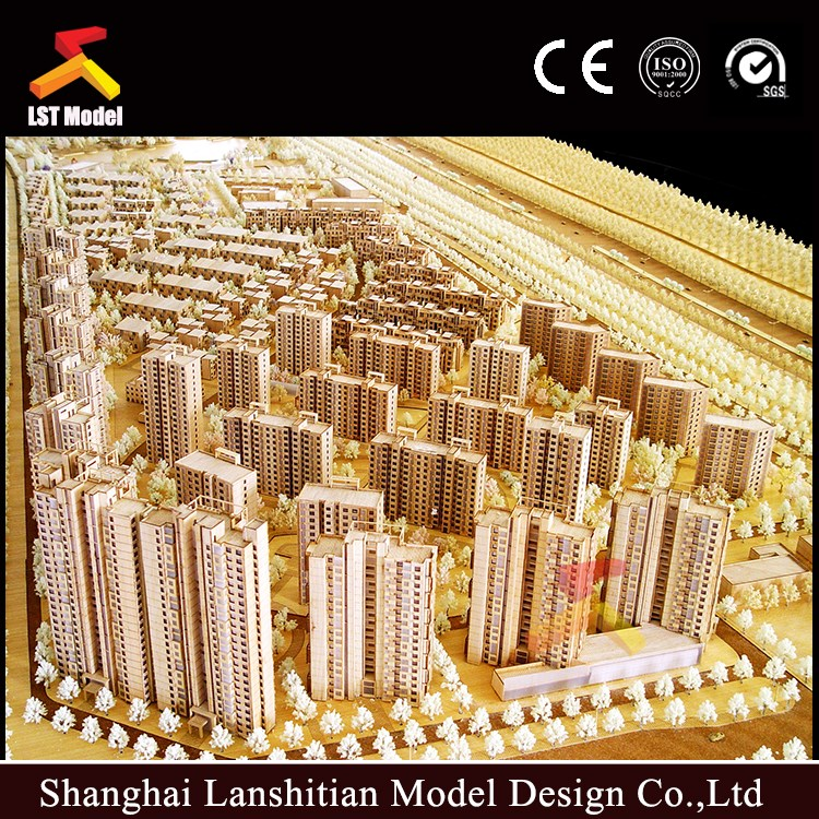Customized regional planning scale model for coastal port ,best architecture model maker in China
