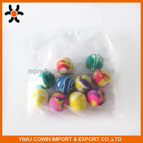 27 32 45mm Transparent Bouncy Ball/Rubber Bouncy Ball Vending Machine/Clear Bouncy