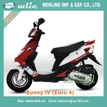 Cheap Euro 4 EEC 50 cc moped gas scooter 49cc vintage Sunny IV 50cc (Euro4)