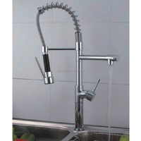 China factory direct supply best discount stainless steel material single handle UPC kitchen faucet