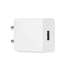 BIS Plug Single USB QC3.0 Quick Wall Charger For Indian Market