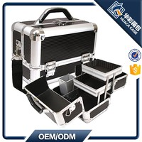 Multi layer Aluminum Beauty Case for Makeup Artists HCHZ-006 OEM Acceptable