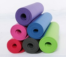 high density nbr closed cell foam thick yoga mat