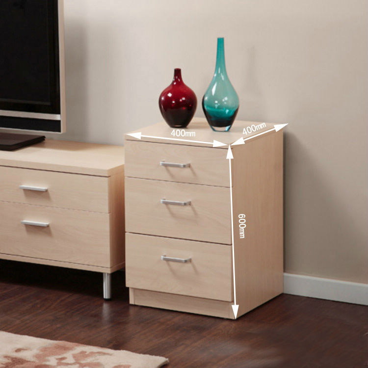 Modern minimalist three side cabinet