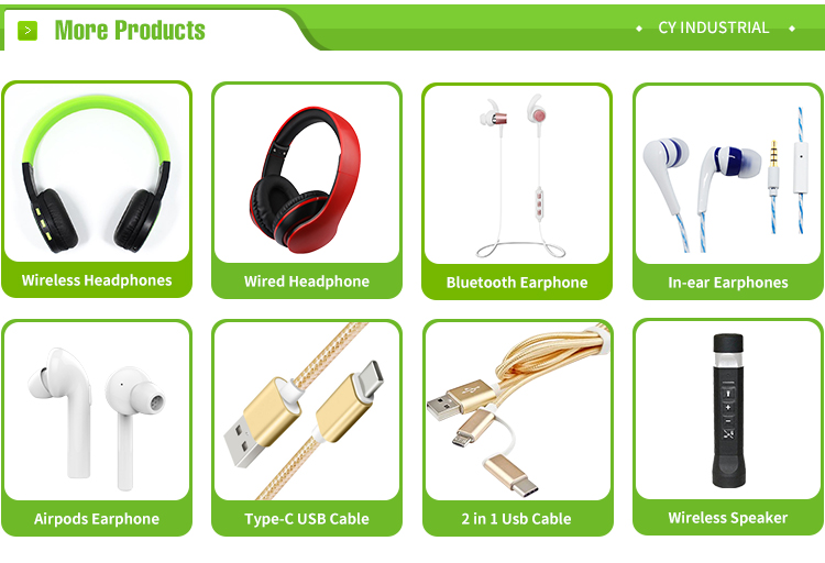Wholesale 3.5mm stereo plug foldable earphones wired headphone With Customized packaging