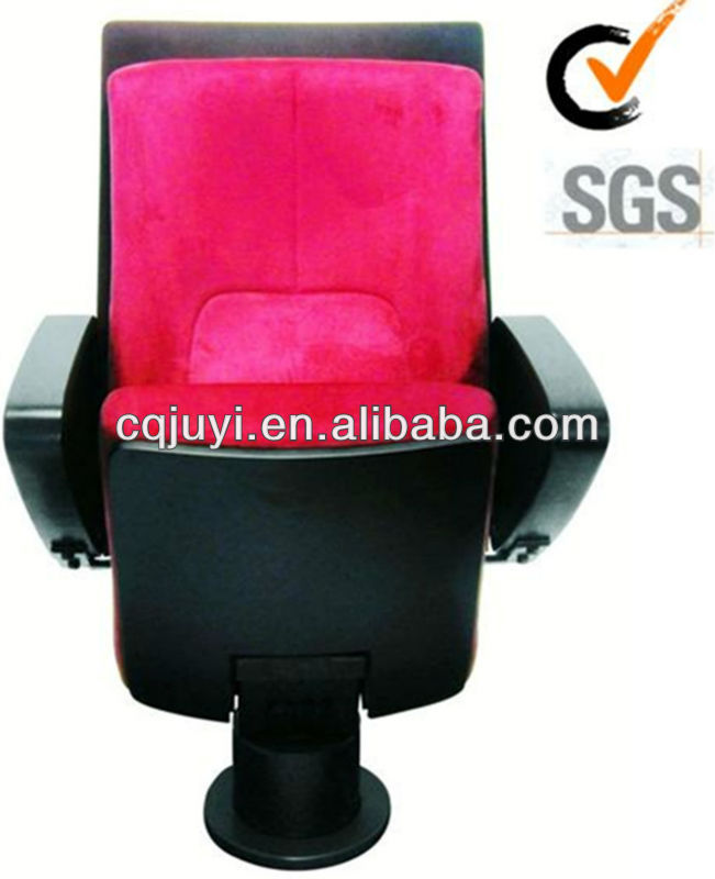 Tip-up Auditorium Chair With Single Leg Modern Design beauty chair JY-903